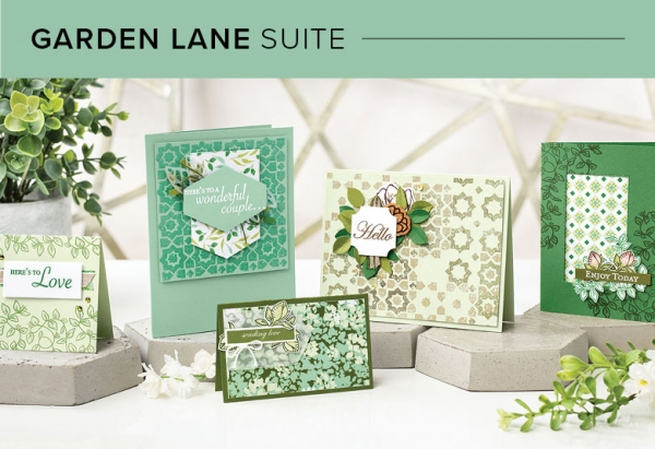CM101004 Garden Lane Suite by Stampin' Up!