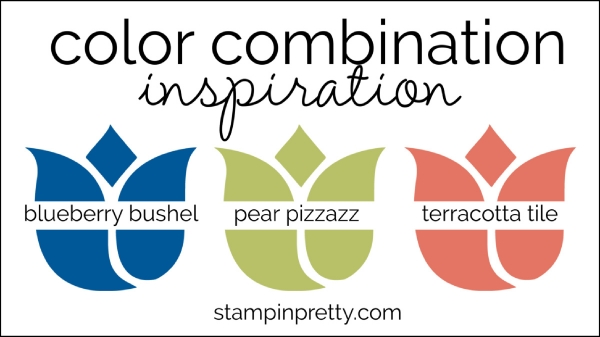 Color Combinations blueberry bushel, pear pizzazz, teracotta tile