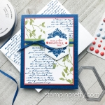 Create this card using the Very Versallies Stamp Set by Stampin