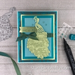 Noble Peacock Suite by Stampin