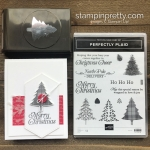 Perfectly Plaid Stamp Set & Pine Tree Punch from Stampin
