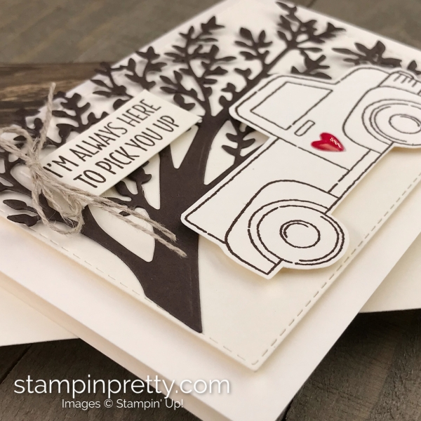 Ride With Me Bundle by Stampin' Up! Sympathy Note Card by Mary Fish, Stampin' Pretty