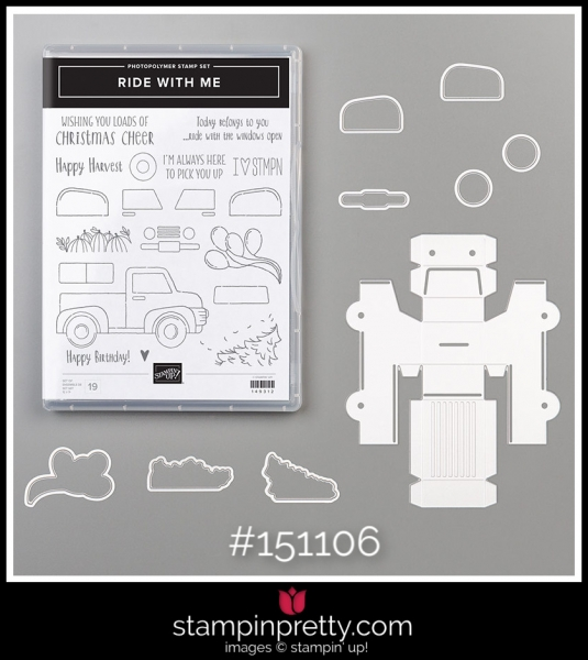 Stampin' Up! Bundle Ride With Me 151106
