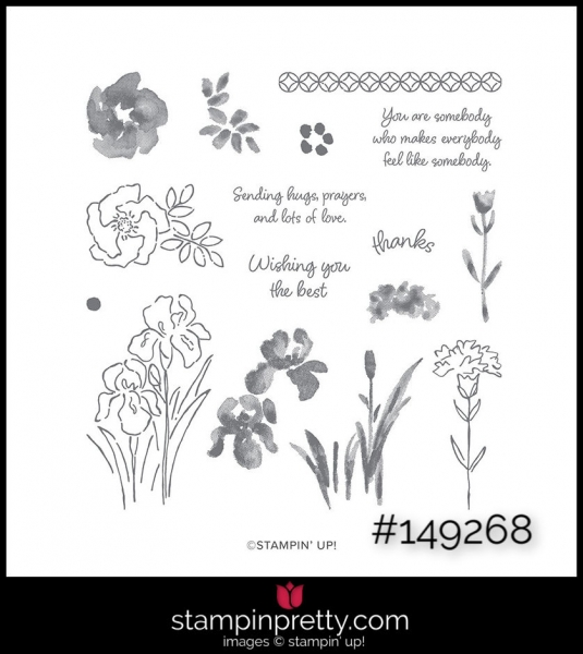 Stampin' Up! Stamp Set Inspiring Iris 149268