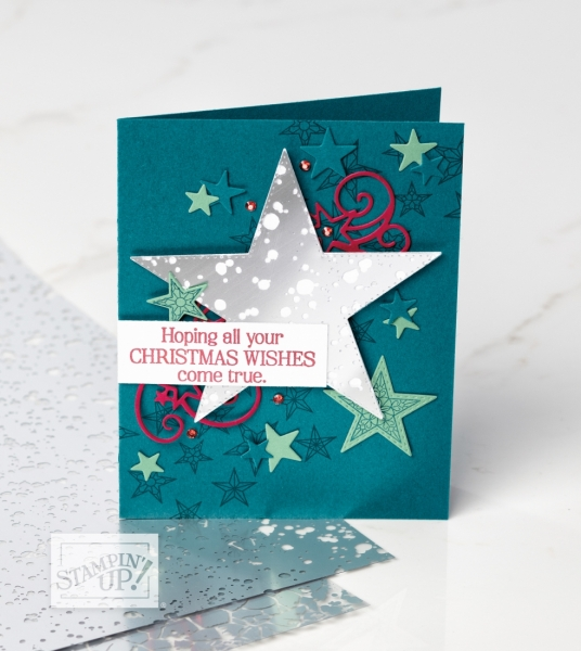 Stampin' Up! So Many Stars Sample #2