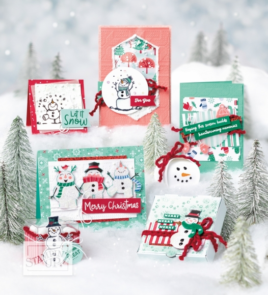 Let it Snow Suite Project Samples Page 18 Stampin' Up! Holiday Catalog
