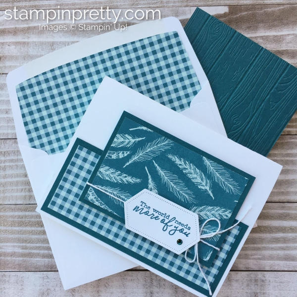Sneak Peek! Come to Gather Design Series Paper from Stampin' Up! Card by Mary Fish, Stampin' Pretty