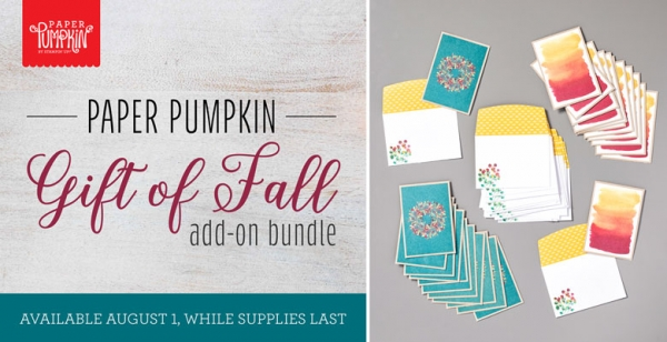 The Gift of Fall Add On Bundle by Stampin' Up!