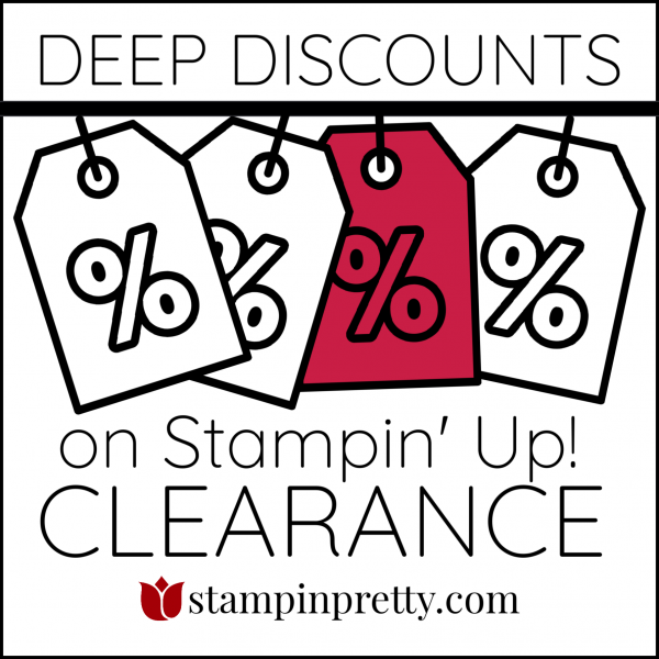 Deep Discounts on Stampin' Up! Clearance