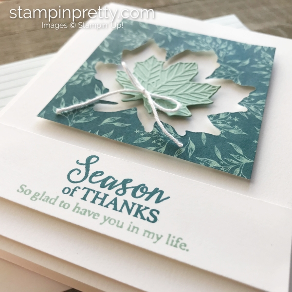 Come to Gather Suite by Stampin' Up! Season of Thanks Card by Mary Fish, Stampin' Pretty