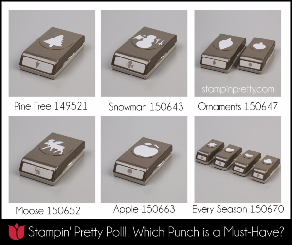 Stampin' Pretty Poll, Which Punch is a Must-Have?