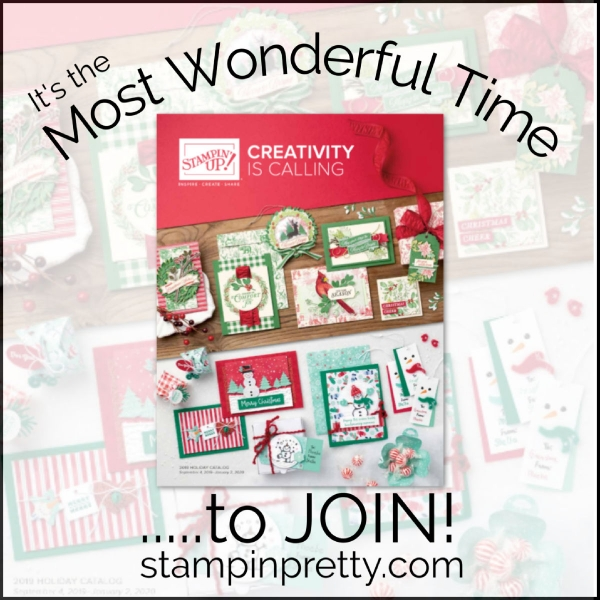 It's the most wonderful time to join Stampin' Up & Stampin' Pretty