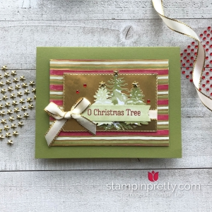Most Wonderful Time Product Medley from Stampin' Up! Card by Mary Fish, Stampin' Pretty