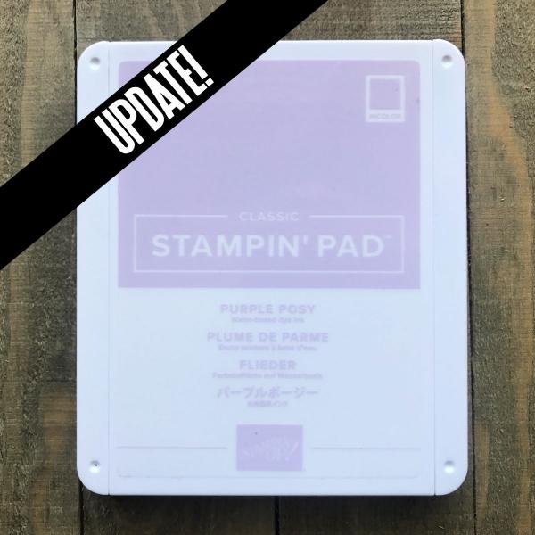 Purple Posy Ink Pad