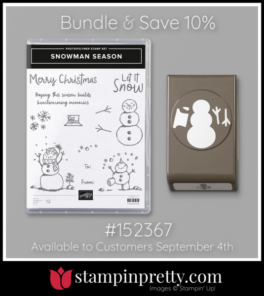 Stampin' Up! Bundle Snowman Season 152367