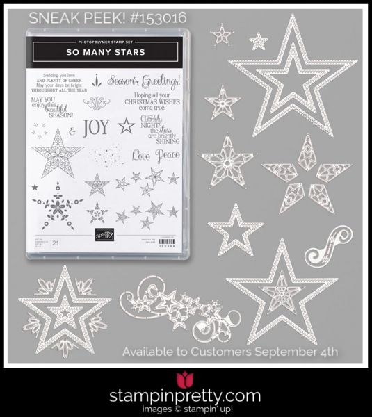 Stampin' Up! Bundle So Many Stars