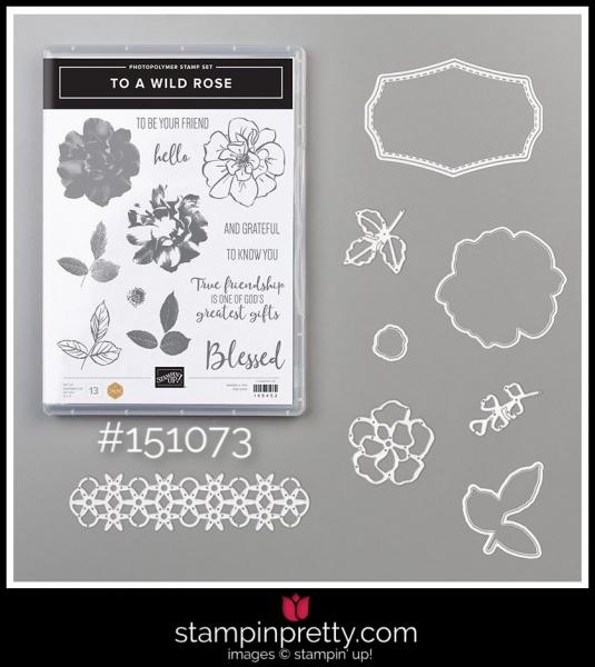 Stampin' Up! Bundle To a Wild Rose 151073