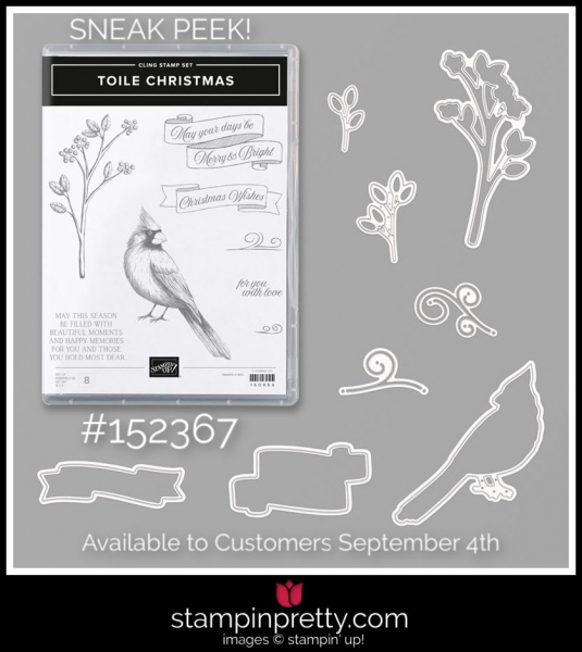 Stampin' Up! Bundle Toile Christmas