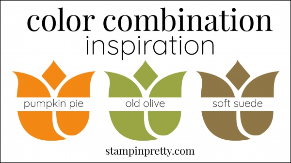 Color Combinations Pumpkin Pie, Old Olive, Soft Suede