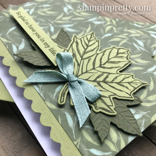 Gather Together Bundle & Garden Lane Designer Series Paper from Stampin' Up! Card by Mary Fish, Stampin' Pretty