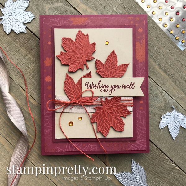 Gather Together Bundle and Come to Gather Designer Series Paper From Stampin' Up! Handmade Friend Card by Mary Fish, Stampin' Pretty - Cajun Craze