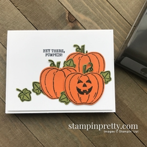 Harvest Hellos Bundle from Stampin' Up! Card by Mary Fish, Stampin' Pretty