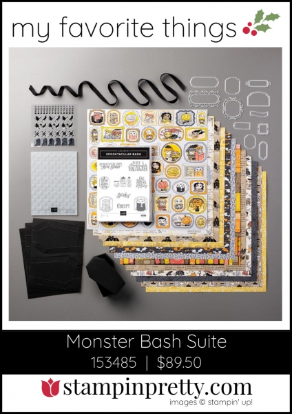 Mary Fish, Stampin' Pretty My Favorite Things 2019 Stampin' Up! Holiday Catalog - Monster Bash Suite