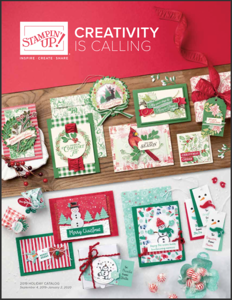 Stampin' Up! 2019 Holiday Catalog Cover