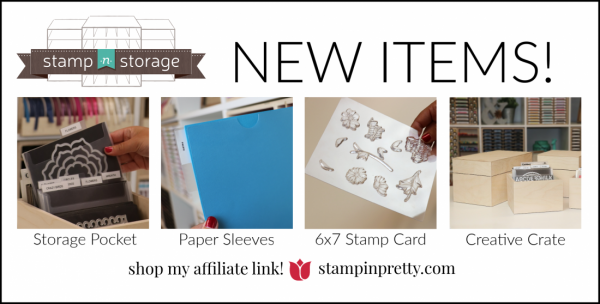 Stamp N Storage New Products