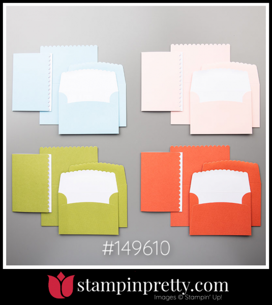 Stampin' Up! Scalloped Note Cards & Envelopes