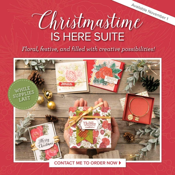 Christmastime is Here Suite of Products - Add to a Starter Kit TODAY!