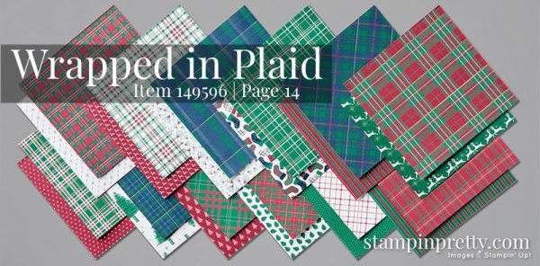 149596 Wrapped in Plaid Designer Series Paper by Stampin' Up!