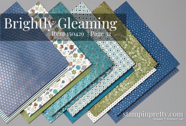 150429 Brightly Gleaming Designer Series Paper by Stampin' Up!