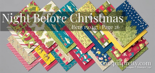 150437 Night Before Christmas Designer Series Paper by Stampin' Up!