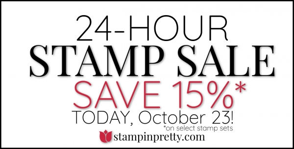 24 Hour Stamp Sale TODAY