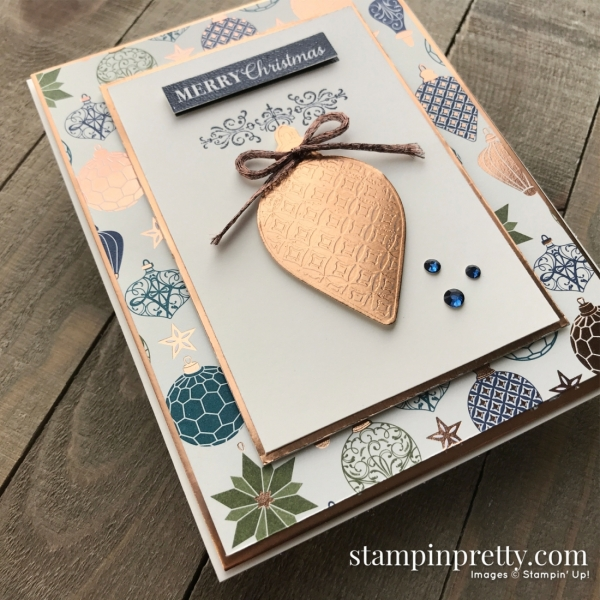 Brightly Gleaming Suite from Stampin' Up! Card created by Mary Fish, Stampin' Pretty