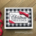 Buffalo Check & Greatest Part of Christmas Stamp Sets from Stampin