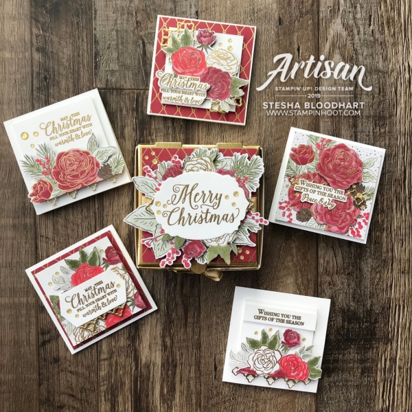 Christmastime is Here Suite by Stesha Bloodhart - 2019 Artisan Blog Hop - Stesha Bloodhart, Stampin' Hoot!(2)