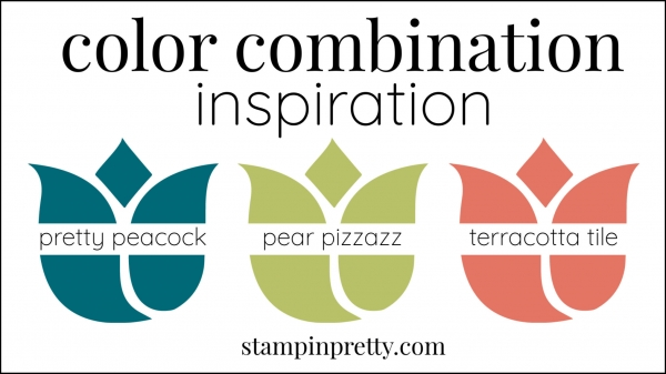 Color Combinations Pretty Peacock, Pear Pizzazz, Terracotta Tile(1)