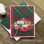 Create this Christmas Card using the Merry Moose Bundle from Stampin