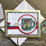 Cup of Christmas & Wrapped in Plaid DSP from Stampin