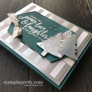Feels Like Front Designer Series Paper from Stampin' Up! Card by Mary Fish, Stampin' Pretty