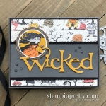 Monster Bash Designer Series Paper and Wicked Die by Stampin