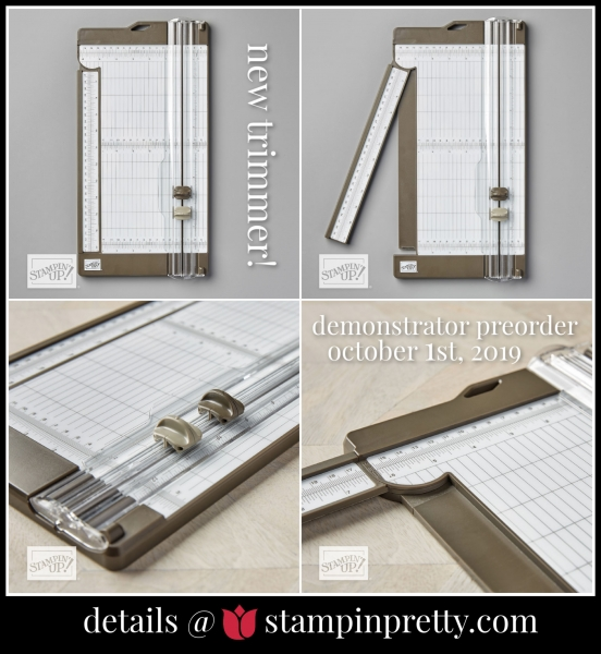 New Paper Trimmer Available Oct 1st to DemonstratorsNew Paper Trimmer Available Oct 1st to Demonstrators