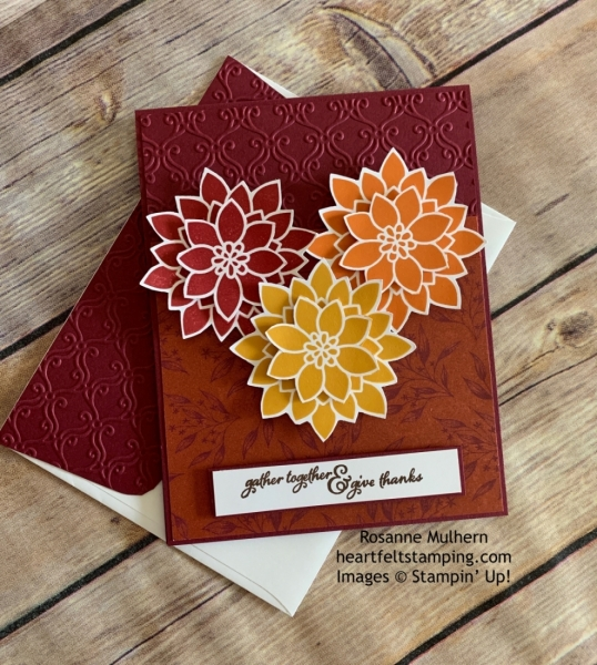 Stampin' Pretty Pals Sunday Picks.10.13.2019_Rosanne Mulhern