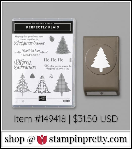 Stampin' Up! Perfectly Plaid Bundle from Stampin' Up! Shop with Mary Fish, Stampin' Pretty