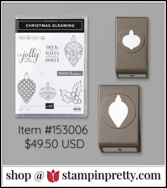 Stampin' Up! Christmas Gleaming Bundle 153006