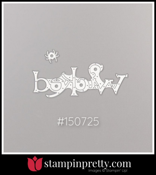 Stampin' Up! Dies Wicked 150725