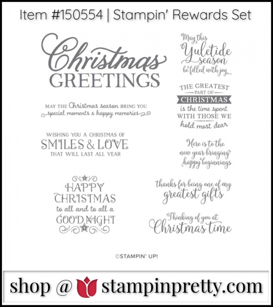 Greatest Part of Christmas Stamp Set from Stampin' Up!
