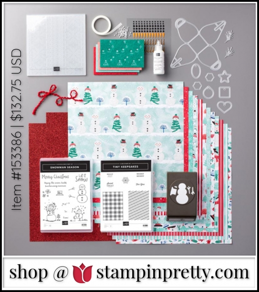 Stampin' Up! Let it Snow Suite Bundle